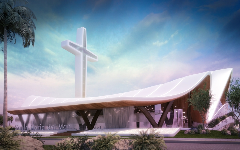 18 - Basílica Santa Maria del Mar. sanzpont [arquitectura]