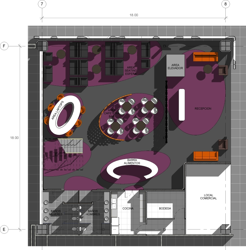 44 - sanzpont [arquitectura] - San Jose del Cabo Airport CA - VIP Lounge Floor Plan 01