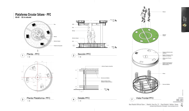Realmadrid official store iconos del dise o 2013 ad for El concepto de arquitectura